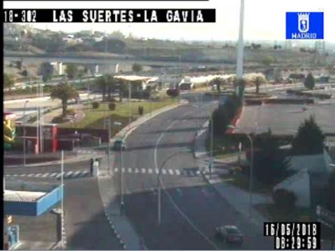 Traffic in P.A.U. Vallecas – Antonio Gades