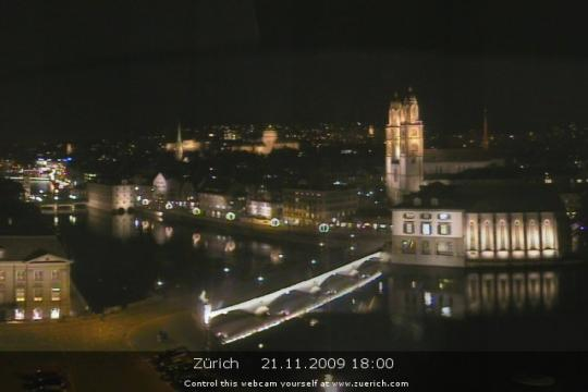 Zürich Webcam, city view
