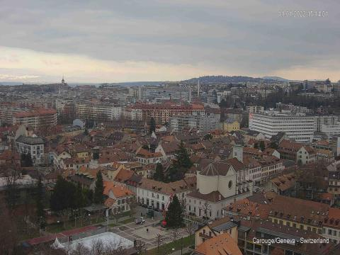 Genève Webcam, city view
