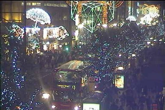London Webcam, Oxford Street