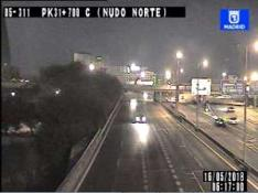 traffic-in-m-30-vias-chamartin-calle-30-nudo-norte