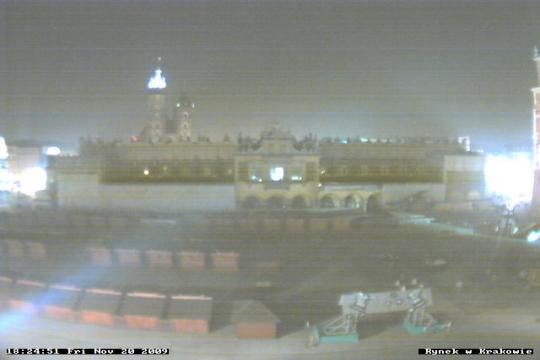 Lesser Poland Webcam, Kraków Market square