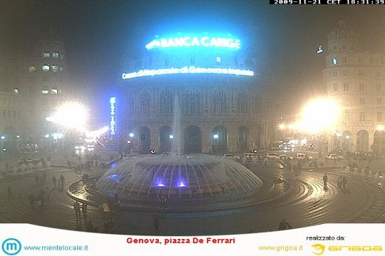 Liguria Webcam, Genoa Piazza de Ferrari