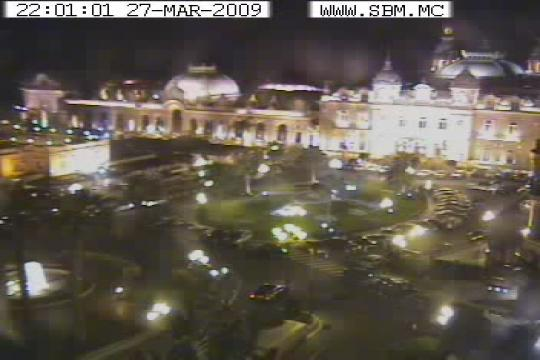 Monaco Webcam, Monte-Carlo Casino