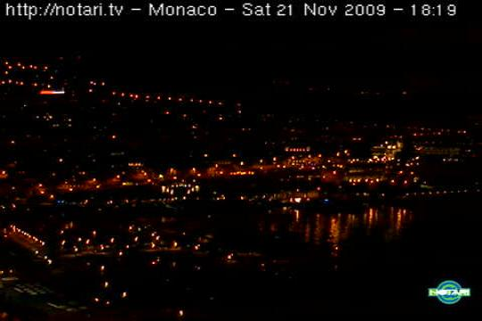 Monaco Webcam, Monte-Carlo Harbour