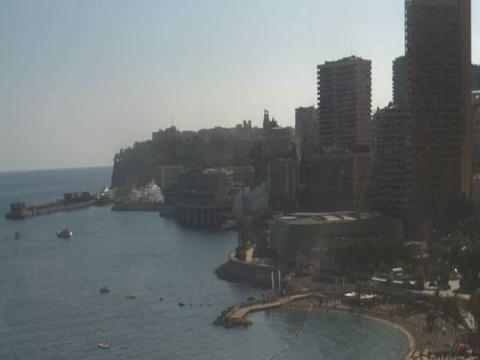 Monaco Webcam, Monte-Carlo Port Hercule