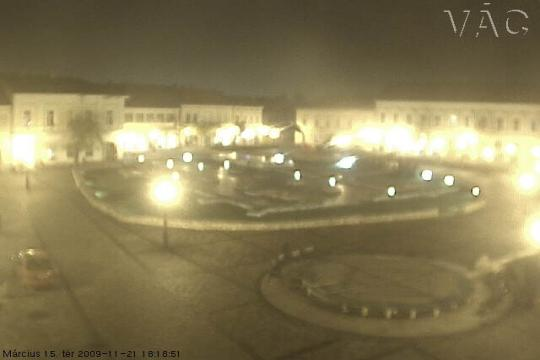 Pest Webcam, Vác main square