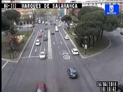 Traffic in Marques de Salamanca