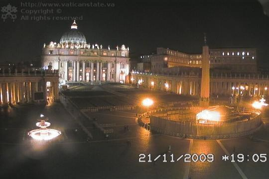 Vatican Webcam, Saint Peter's Basilica
