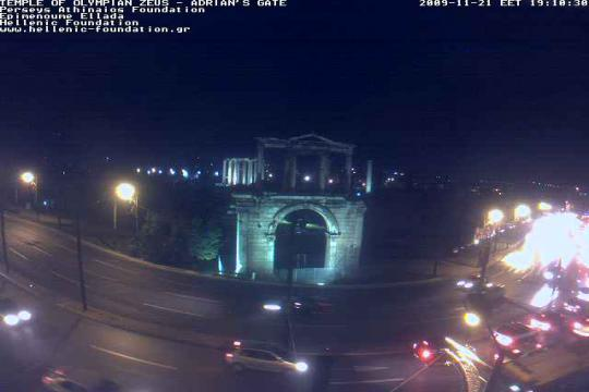 West Greece Webcam, Olympia Temple of Zeus