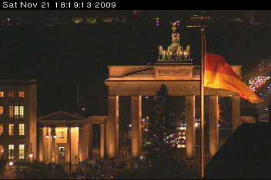 Berlin Webcam, Brandenburg Gate