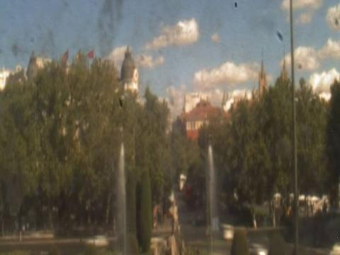 Madrid Webcam, Neptuno Fountain