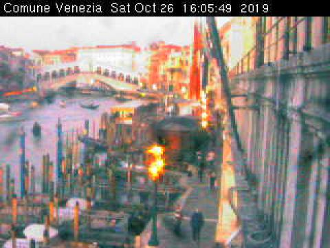 Venice webcam, Rialto Bridge