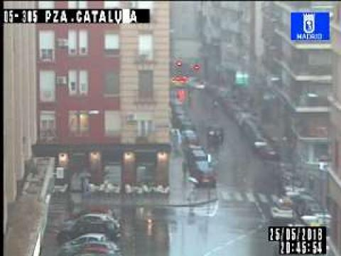 Traffic in PL Cataluña