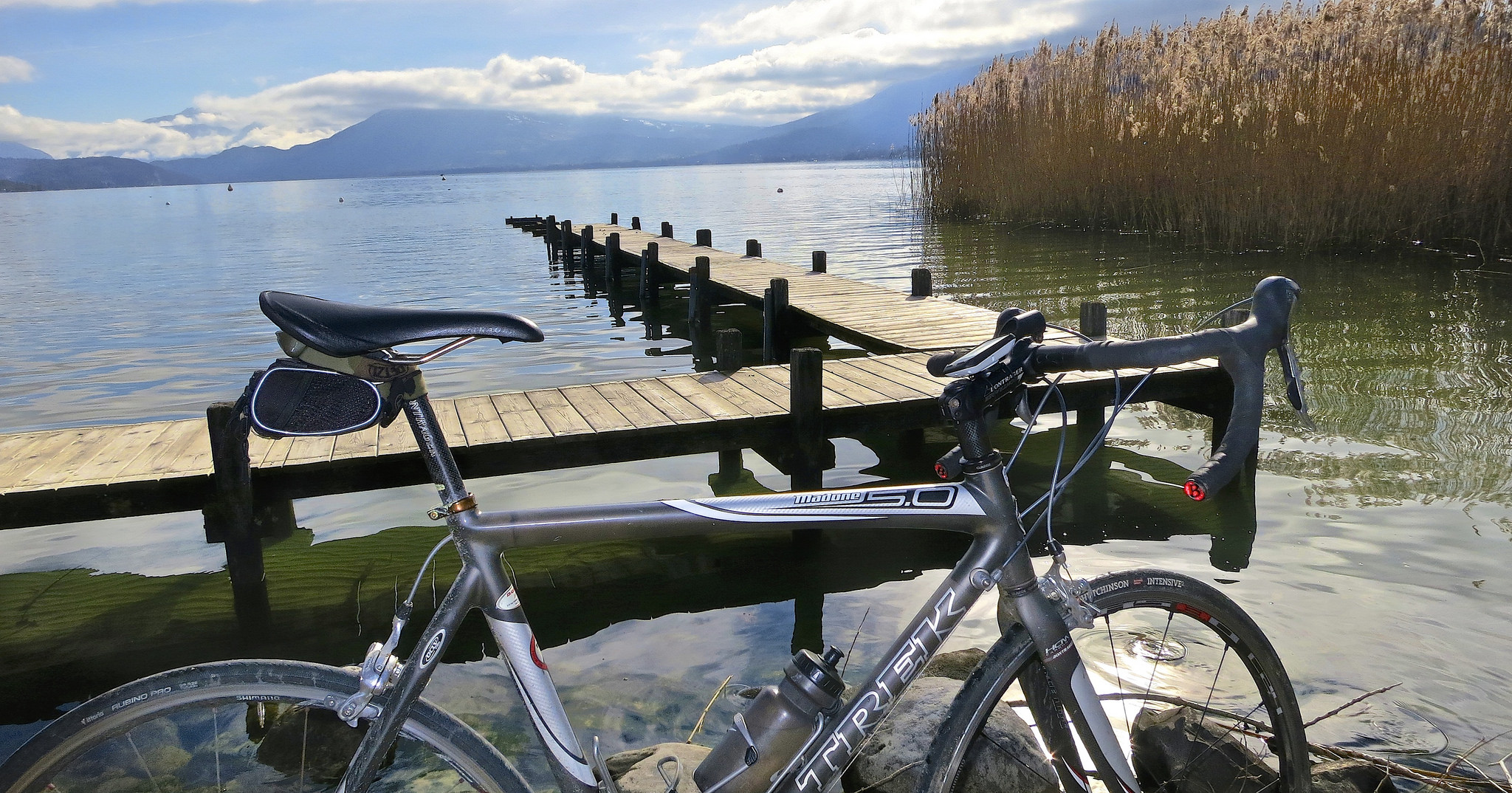 Cycling in Annecy