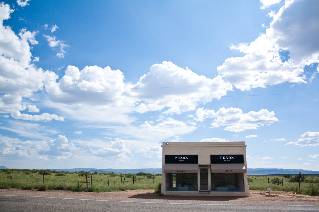 Prada Marfa Artwork